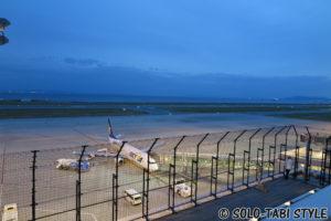 【神戸ひとり旅】神戸空港夜景写真・夜景動画&飛行機からの景色の調べ方【おまけ作例】